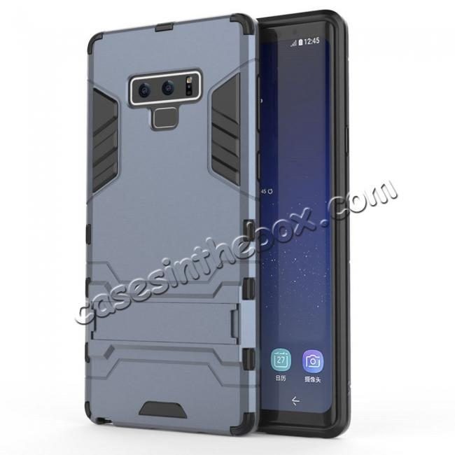 cheap Case for Samsung Galaxy Note 9 Case with Kickstand Hybrid Protective Hard Back Cover