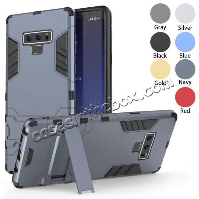 wholesale Case for Samsung Galaxy Note 9 Case with Kickstand Hybrid Protective Hard Back Cover