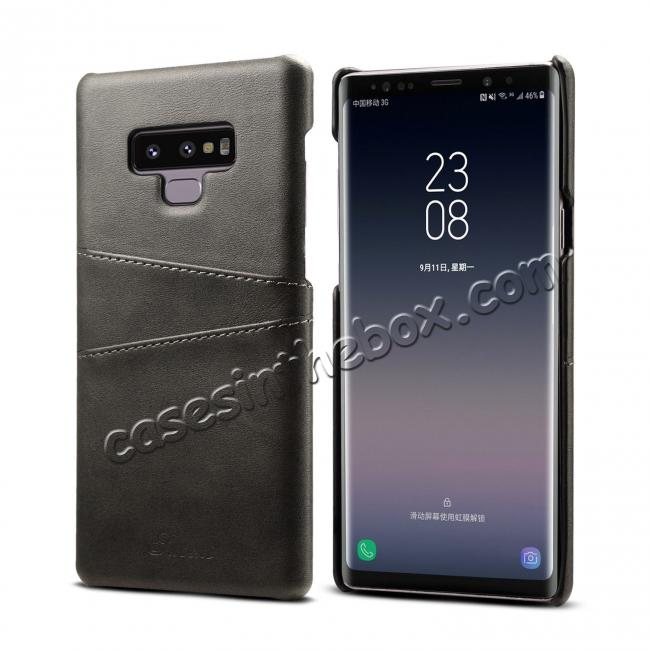 top quality Case For Samsung Galaxy Note 9 Shockproof Leather Card Slot Back Cover