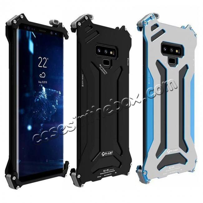 wholesale Case For Samsung Galaxy Note 9 Metal Aluminum Shockproof Bumper Armor Cover