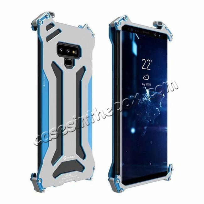 discount Case For Samsung Galaxy Note 9 Metal Aluminum Shockproof Bumper Armor Cover