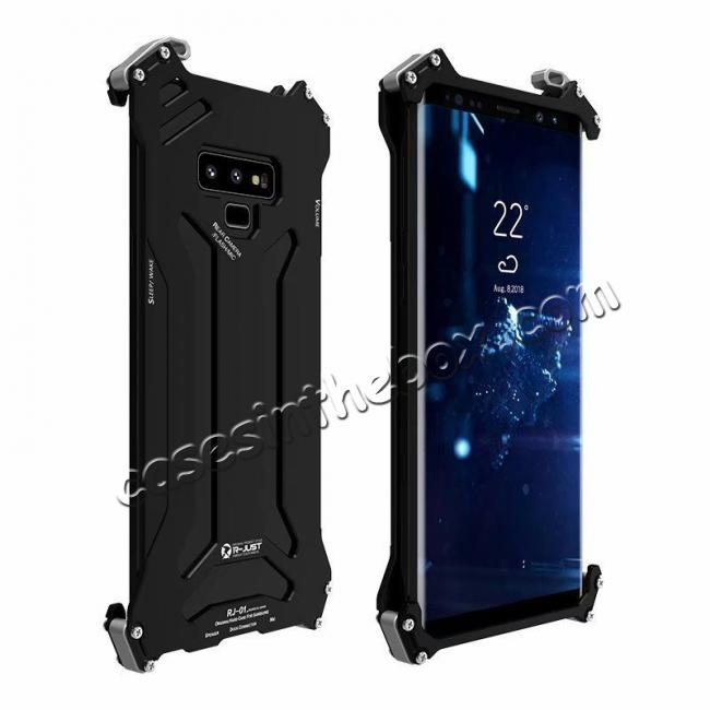 cheap Case For Samsung Galaxy Note 9 Metal Aluminum Shockproof Bumper Armor Cover