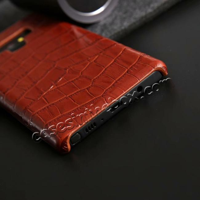 top quality Crocodile Genuine Leather Back Case for Samsung Galaxy Note 9