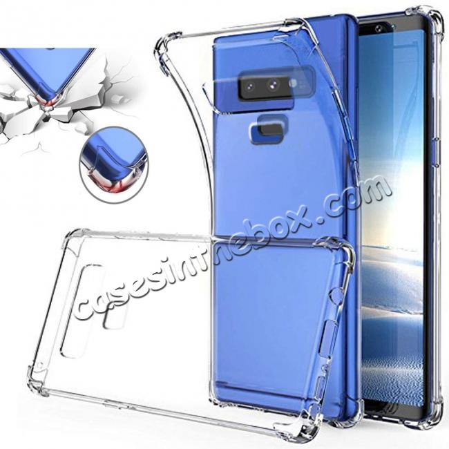 wholesale For Samsung Galaxy Note 9 Clear Shockproof Slim TPU Cover Case