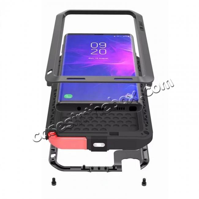 cheap wholesale For Samsung Galaxy Note 9 Metal Aluminum Armor Shockproof Bumper Case