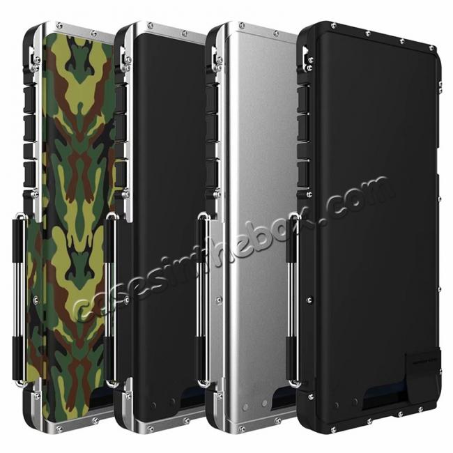 wholesale R-Just Metal Shockproof Powerful Flip Case Cover For Samsung Note 9 S9 S8 Plus