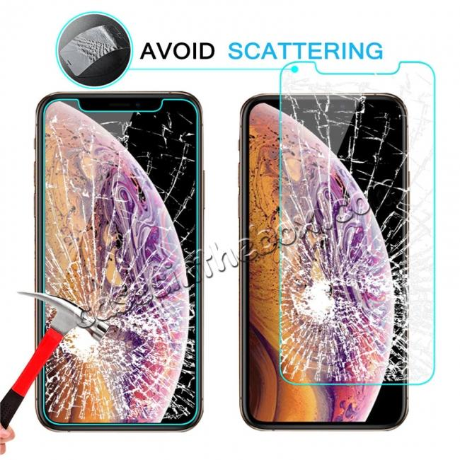 best price 2-Pack For Apple iPhone XS Max 9H Hardness Tempered Glass Screen Protector Film
