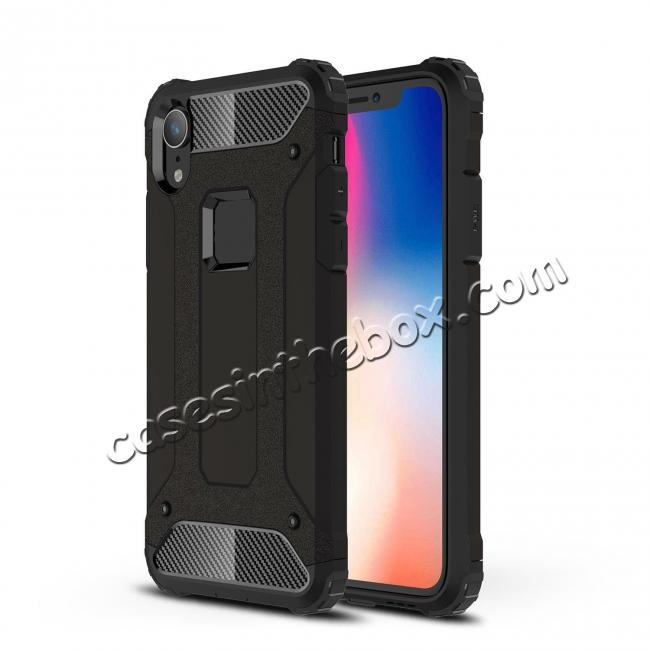 cheap For iPhone XS Max Shockproof Armor Hybrid Rugged Phone Back Case Cover