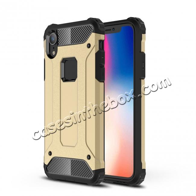 top quality For iPhone XS Max Shockproof Armor Hybrid Rugged Phone Back Case Cover
