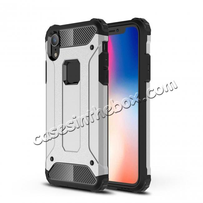 high quanlity For iPhone XS Max Shockproof Armor Hybrid Rugged Phone Back Case Cover