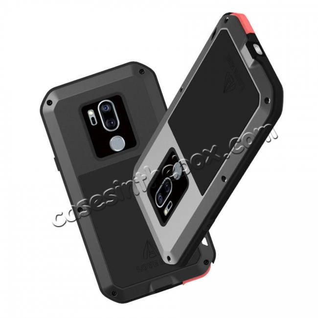 low price Powerful Gorilla Glass Metal Aluminum Armor Cover Case For LG G7 ThinQ