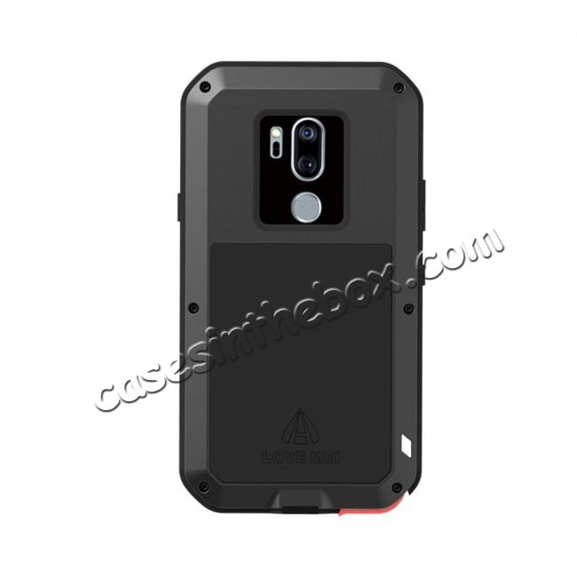 high quanlity Powerful Gorilla Glass Metal Aluminum Armor Cover Case For LG G7 ThinQ