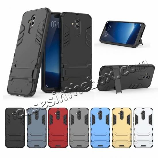 wholesale For Huawei Mate 20 Lite Shockproof Hybrid Slim Hard Armor Kickstand Case Cover