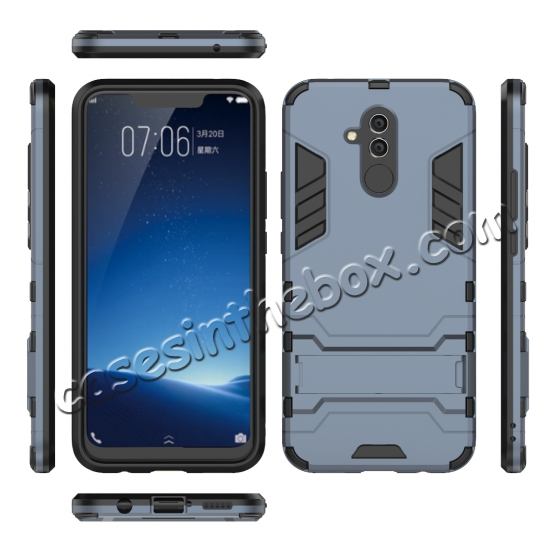 on sale For Huawei Mate 20 Lite Shockproof Hybrid Slim Hard Armor Kickstand Case Cover