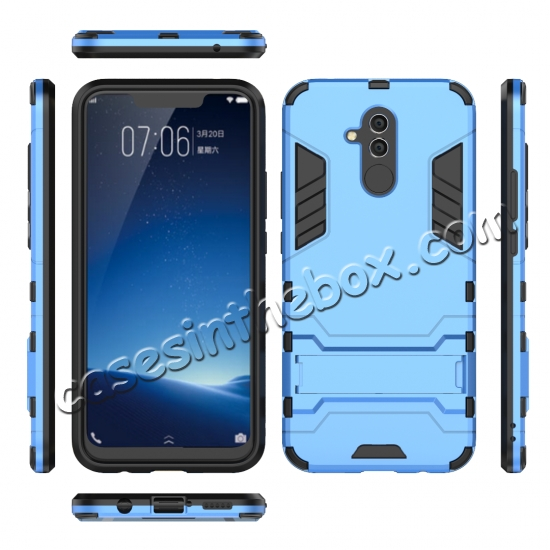 high quanlity For Huawei Mate 20 Lite Shockproof Hybrid Slim Hard Armor Kickstand Case Cover