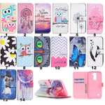 Fashion Leather Wallet Case Filp Stand Cover for AT&T GoPhone LG Phoenix 2