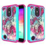 Hybrid Dual Layer Shockproof Protective Case For LG K10 (2017) / K20 V / K20 Plus - Dream Catcher
