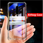 For OnePlus 7 8 Pro Phone Case Shockproof Soft TPU Clear Cover