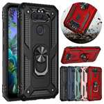 For LG K31 / Aristo 5 / Phoenix 5 Phone Case Shockproof Ring Stand Armor Cover