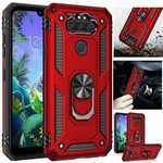 For LG Premier Pro Plus Phone Case Shockproof Ring Holder Stand Cover