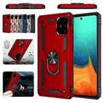 For Samsung Galaxy A71 5G A51 A11 Note20 Ultra Armor Case Magnetic Ring Stand Hard Shockproof Cover