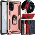 For Samsung Galaxy S20 FE 5G Phone Case Magnetic Ring Holder Armor Cover