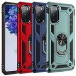 For Samsung Galaxy A52 5G Case Ring Magnetic Kickstand Hybrid Cover