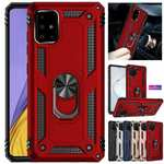 For Samsung Galaxy S21 Plus Ultra / S20 FE 5G UW Case Armor Ring Holder Stand Cover