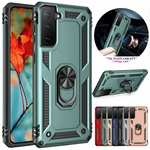 For Samsung Galaxy S21 S21+ S21 Ultra A12 Case Shockproof Stand Armor Hybrid Cover