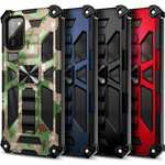 For Samsung Galaxy S21 Ultra Case Rugged Built-in Kickstand Cover