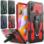 For Samsung Galaxy A11 Phone Protective Heavy Duty Case Cover With Belt Clip