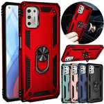 For Motorola Moto G Stylus 5G Phone Case Ring Kickstand Shockproof Cover