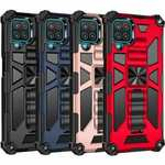 For Samsung Galaxy A12 A42 5G Case Heavy Armor Shockproof Kickstand Rugged Cover