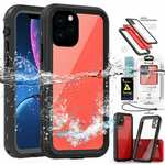 For iPhone 12 Pro Max Mini Waterproof Case Cover w/ Screen Protector