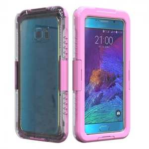100% Waterproof Shockproof Dirt Proof Durable Case For Samsung Galaxy Note 5 - Pink