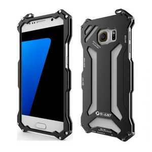 R-JUST Gundam Series Aluminum Metal Case for Samsung Galaxy S7 - Black