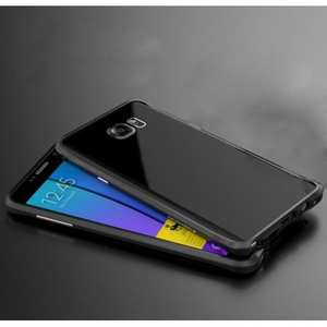 Luxury Slim Aluminum Metal Bumper Frame Case for Samsung Galaxy Note 5 - Black