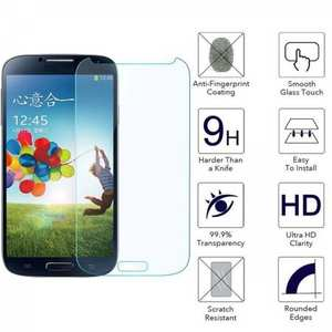 Premium Tempered Glass 9H-Hardness Screen Protector Film for Samsung Galaxy S4
