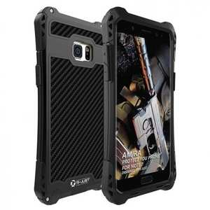 Luxury Aluminum Metal Shockproof Case Cover for Samsung Galaxy Note 7 - Black
