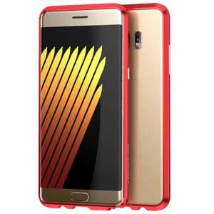 Luxury Ultra Thin Aluminum Metal Bumper Frame Case Cover for Samsung Galaxy Note 7 - Red