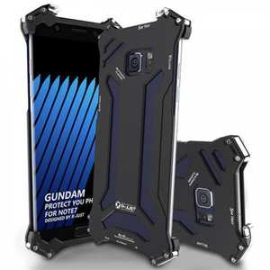 R-JUST Gundam Luxury Shockproof Aluminum Metal Case Cover for Samsung Galaxy Note 7 - Black