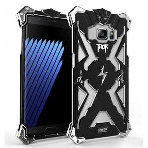 Shockproof Armor Aluminum Metal Protection Case for Samsung Galaxy Note 7 - Black