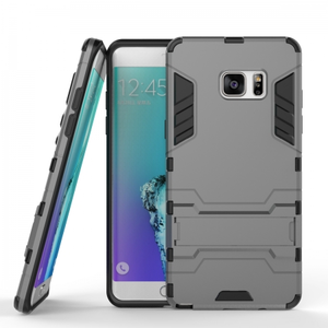 Tough Armor Shockproof Slim Protective Case for Samsung Galaxy Note 7 - Gray