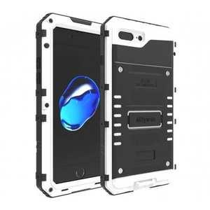 IP68 Waterproof Shockproof Aluminum Metal Case for iPhone 7 Plus 5.5inch - White