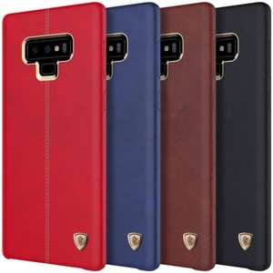 Nillkin Leather Case For Samsung Galaxy Note 9 Shockproof Hard Back Cover