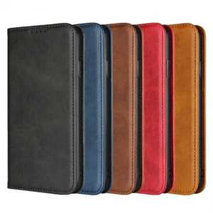 Genuine Leather Card Holder Wallet Case for iPhone XS Max / XR / XS / X / 11 Pro Max SE