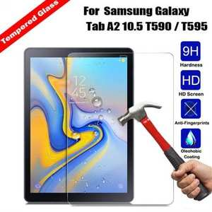 Premium Tempered Glass Screen Protector For Samsung Galaxy Tab A 10.5 T590/T595