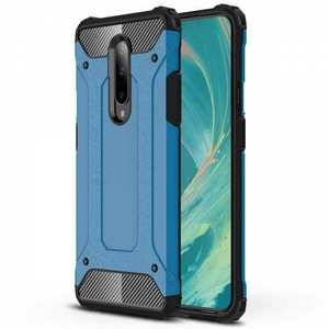 For OnePlus 7 / 7 Pro Case Cover Protective Hybrid Rugged Shockproof Sky Blue