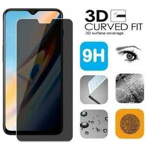 For OnePlus 7 Pro Privacy Screen Protector Premium Tempered Glass Film