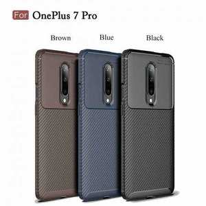 For OnePlus 7 Pro Shockproof Case Soft Slim Protective Back Cover